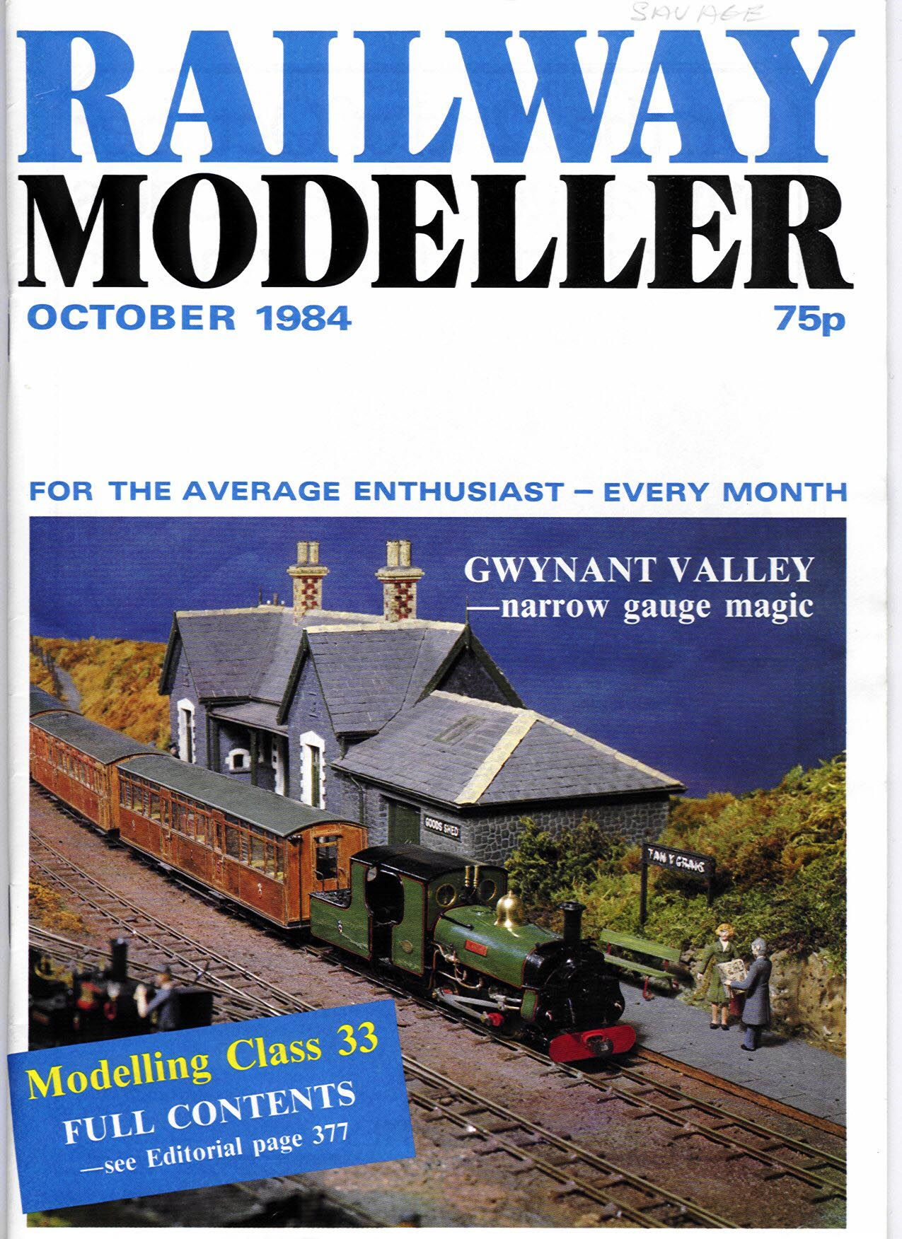 Railway Modeller - October 1984